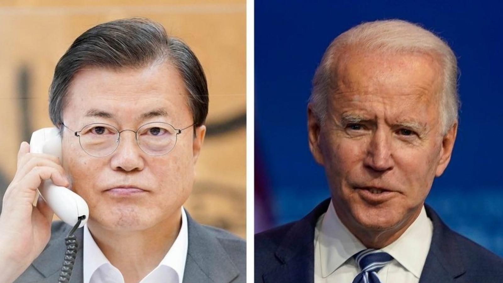 Ông Joe Biden nhấn mạnh vai trò quan trọng của liên minh Mỹ-Hàn Quốc