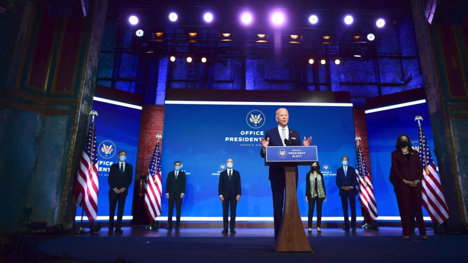 """Biden chuẩn bị nội các """"giống nước Mỹ"""", đưa chính sách thời Trump vào dĩ vãng"""