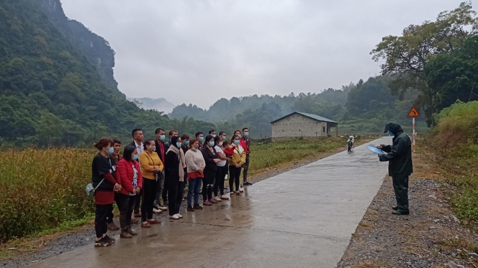 Phát hiện 25 người nhập cảnh trái phép tại Cao Bằng