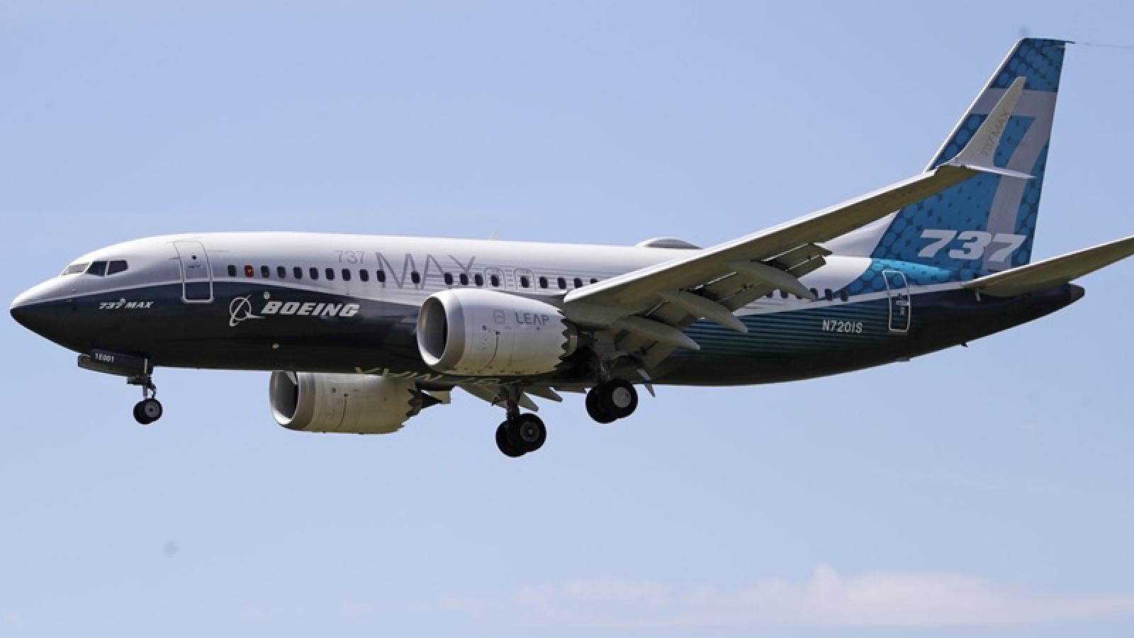 Trung Quốc chưa cho phép dòng máy bay Boeing 737 Max hoạt động trở lại