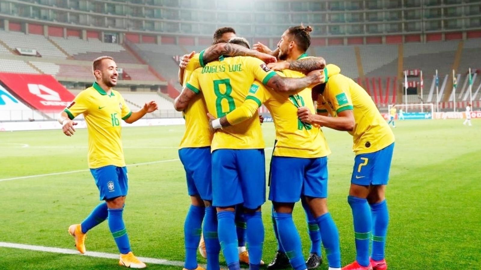 Lịch thi đấu vòng loại World Cup 2022 khu vực Nam Mỹ: Brazil gặp khó