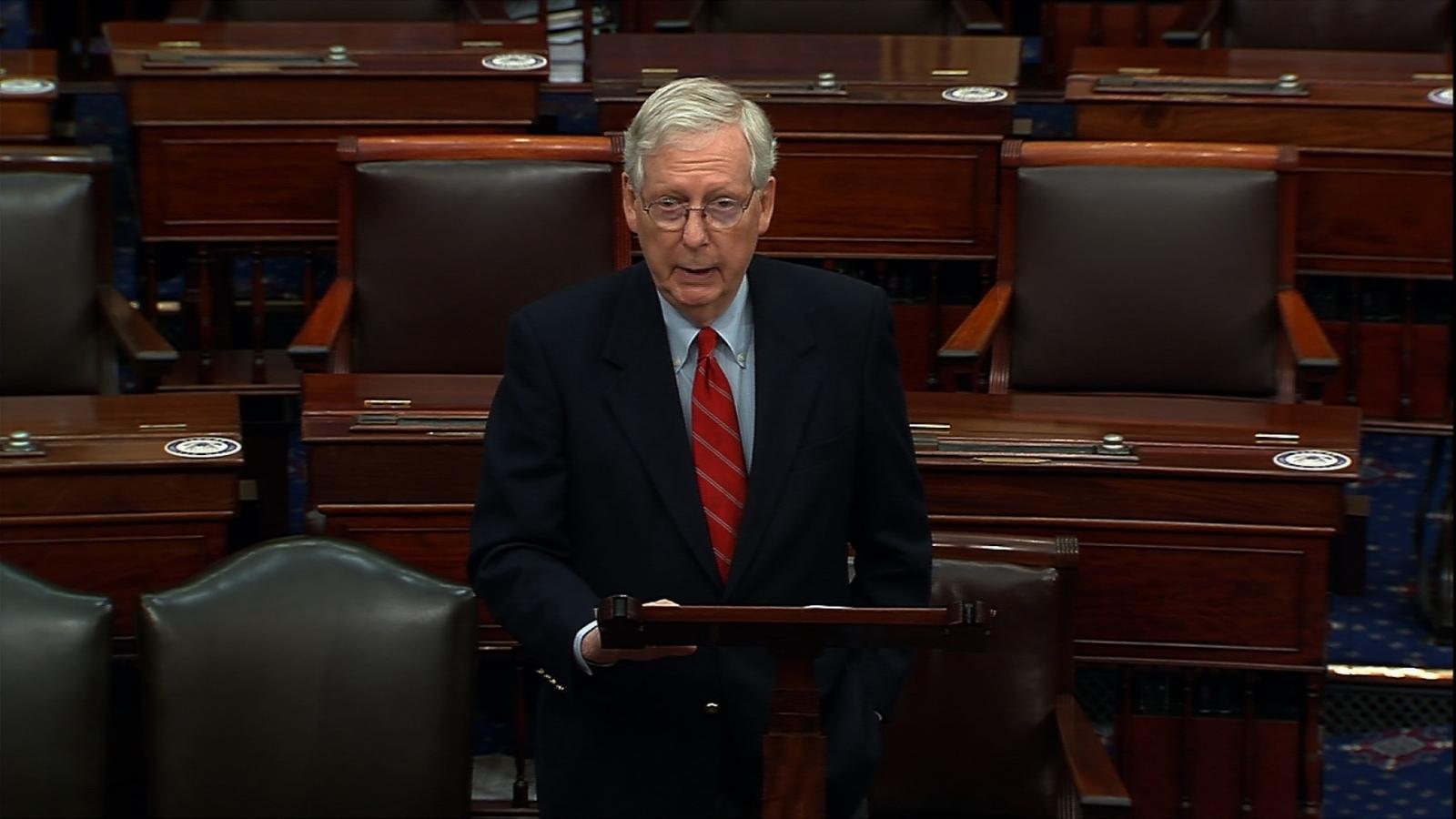 Lãnh đạo Thượng viện ủng hộ ông Trump thực hiện cuộc chiến pháp lý về bầu cử