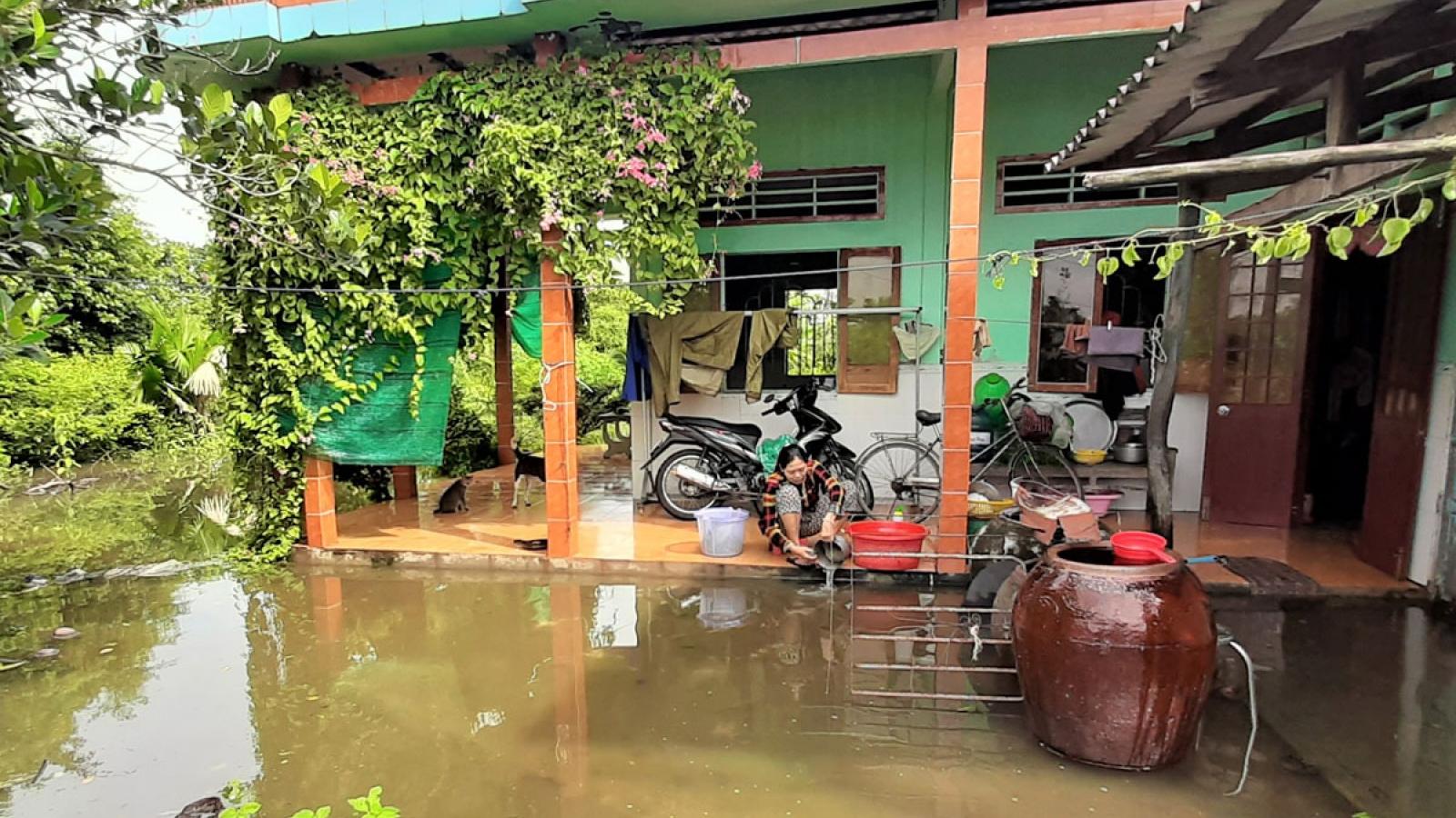 Cà Mau tăng cường phòng chống dịch sau ngập lụt kéo dài