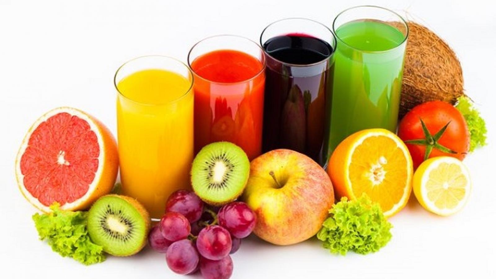 Những loại hoa quả và nước không nên ăn uống khi đói