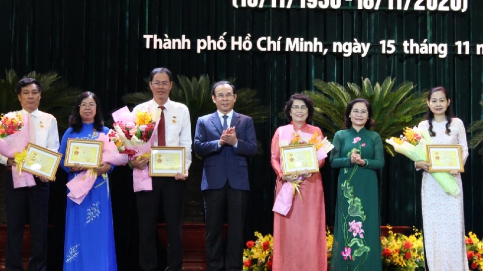 Kỷ niệm 90 năm ngày thành lập Mặt trận Dân tộc thống nhất Việt Nam tại TP HCM