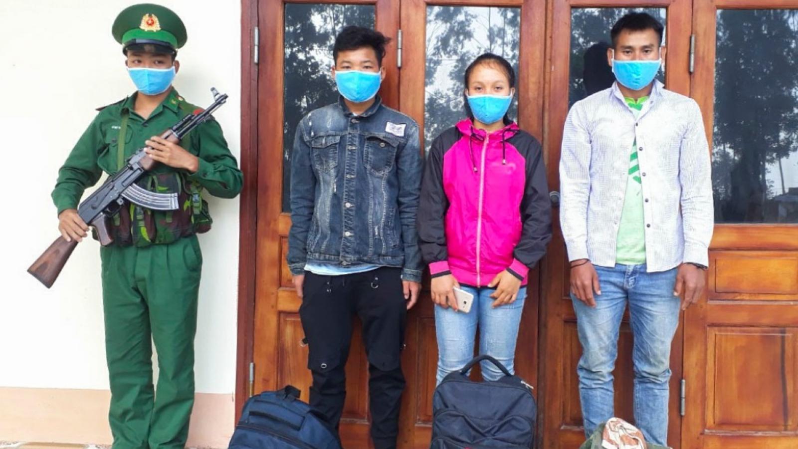 Ngăn chặn 3 người Lào nhập cảnh trái phép vào Việt Nam
