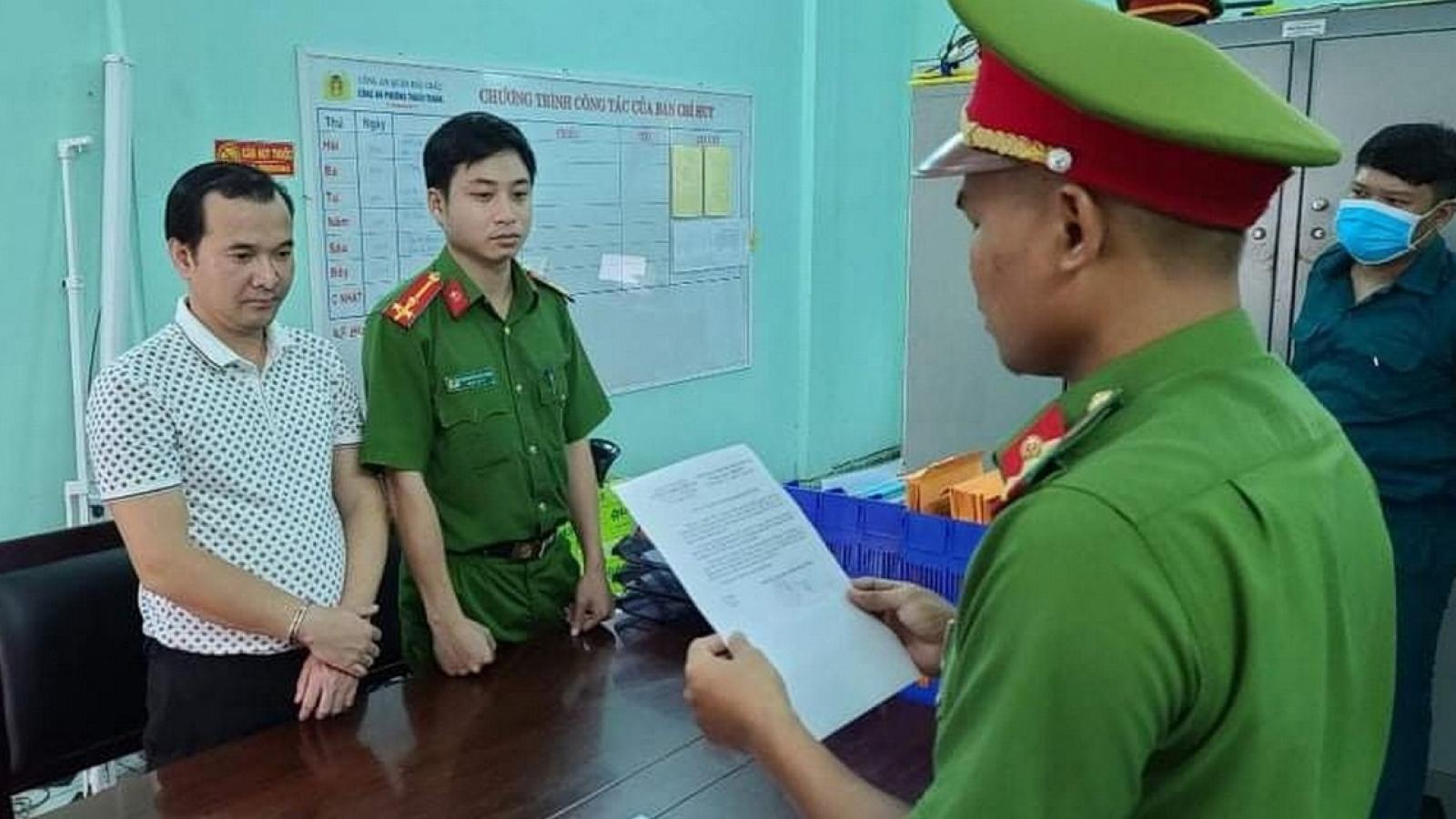 Bắt chủ doanh nghiệp bất động sản lừa đảo ở Quảng Bình