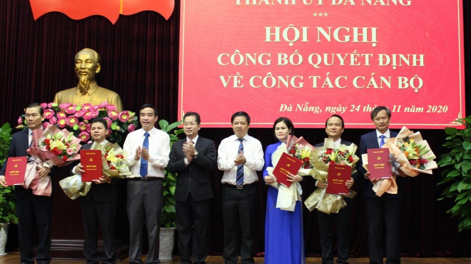 Đà Nẵng công bố việc phê chuẩn, điều động nhiều vị trí chủ chốt