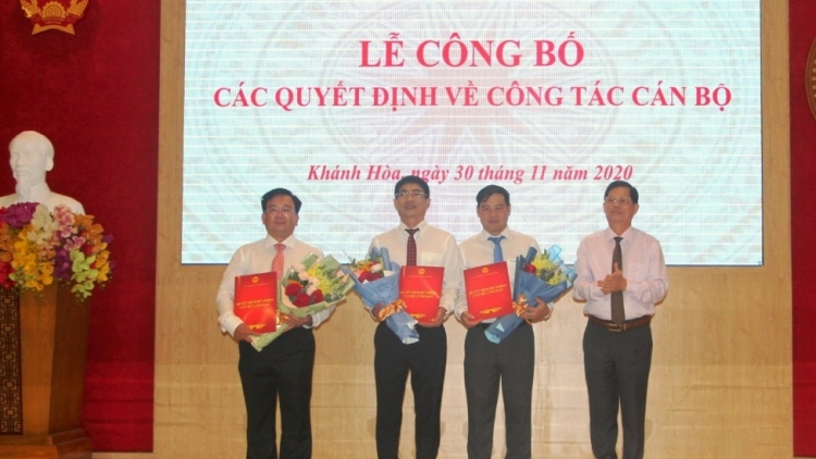 Bổ nhiệm lãnh đạo chủ chốt 6 sở, ngành tại Khánh Hòa