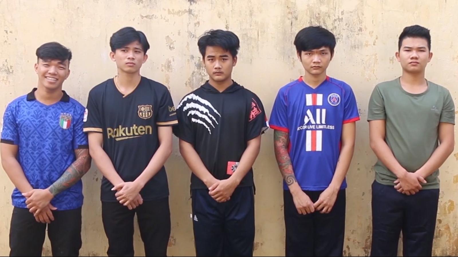 Khởi tố nhóm đối tượng dùng hung khí chém người ở Bình Phước