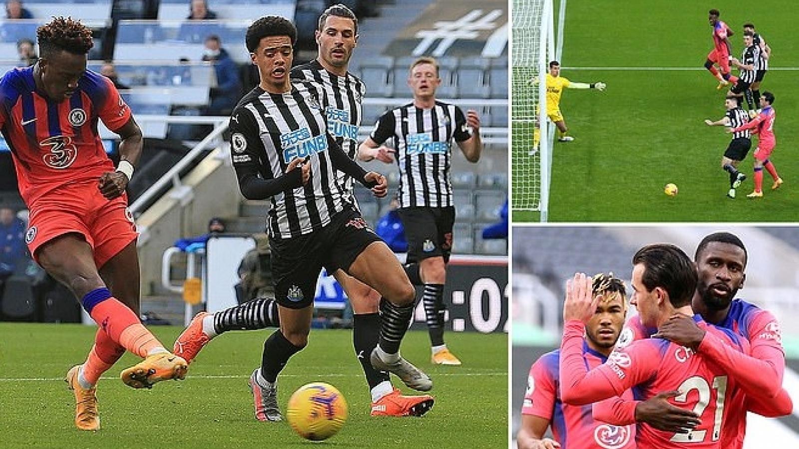 Hạ gục Newcastle với bàn thắng đầy tiểu xảo, Chelsea dẫn đầu Premier League