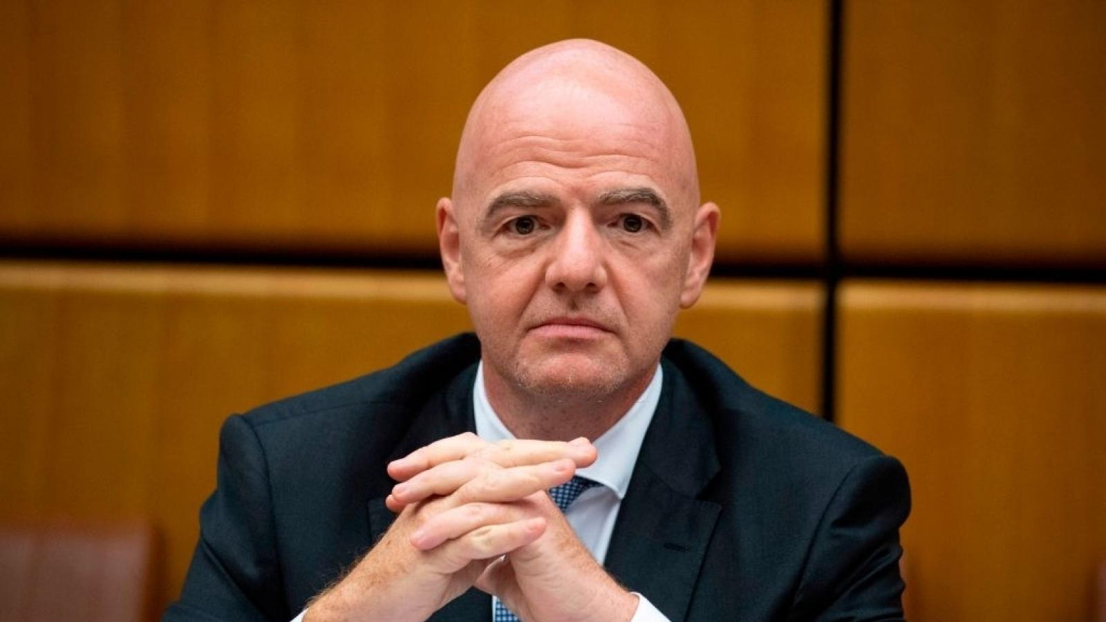 Chủ tịch FIFA hết lời khen ngợi CLB Viettel