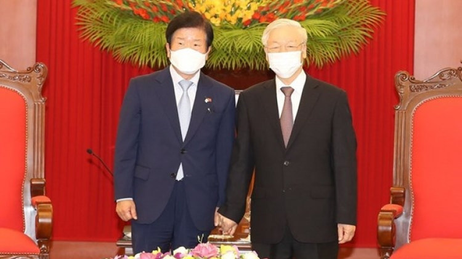 """""""Chủ tịch Quốc hội Hàn Quốc muốn nâng tầm quan hệ với Việt Nam"""""""