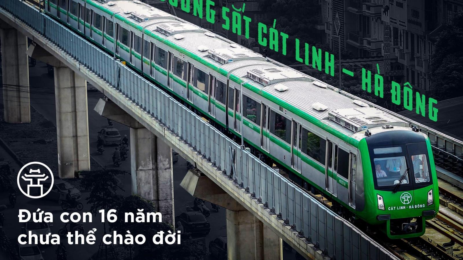 """Đường sắt Cát Linh-Hà Đông 9 lần """"lỗi hẹn"""" và lời hứa của Bộ trưởng Nguyễn Văn Thể"""