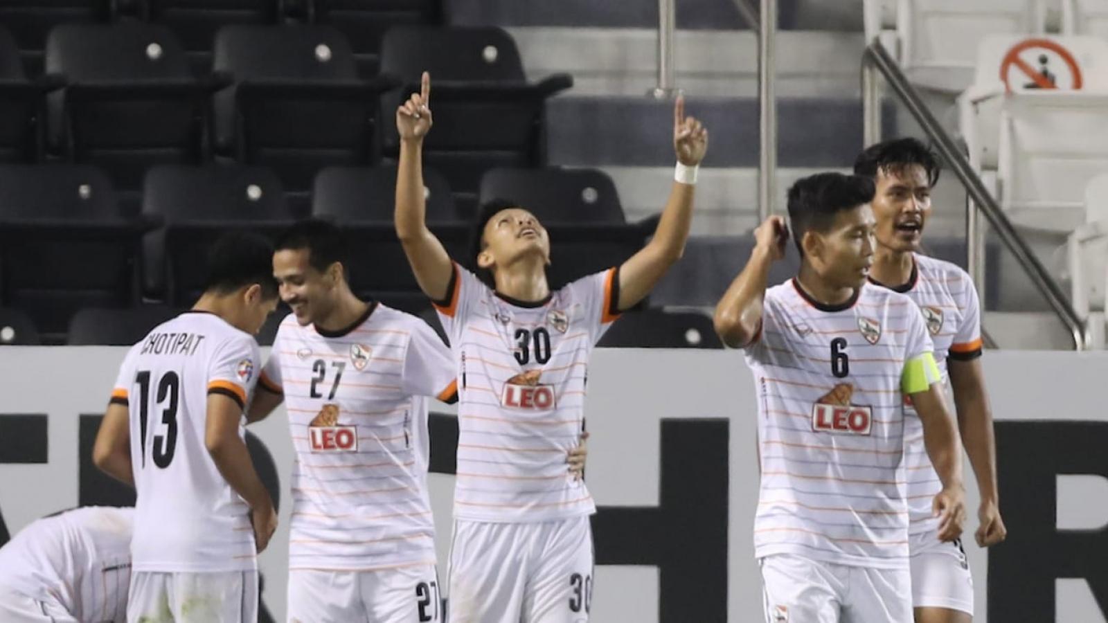 """Đội bóng Thái Lan """"gây sốc"""" ở AFC Champions League"""