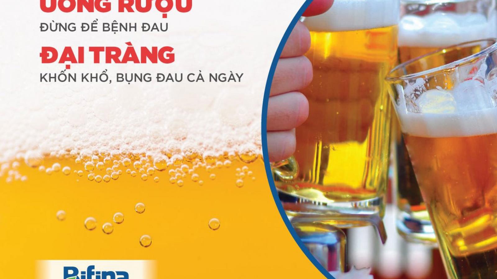"""Đau bụng, đi ngoài sau uống rượu bia - Cách """"giải quyết"""" hiệu quả của người Nhật"""