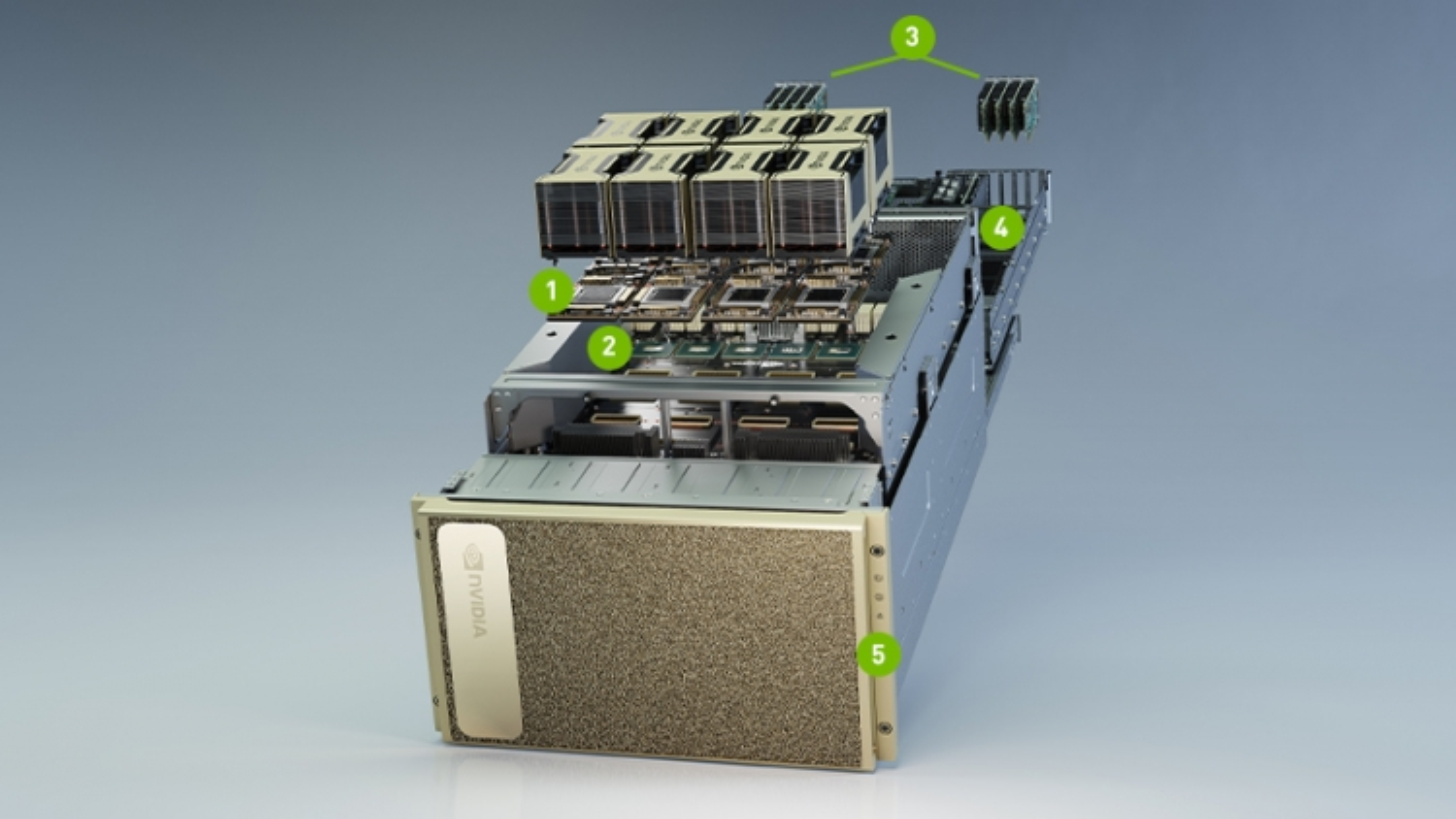 Nvidia công bố máy chủ DGX Station A100 thế hệ thứ 2 với 4 GPU 80GB