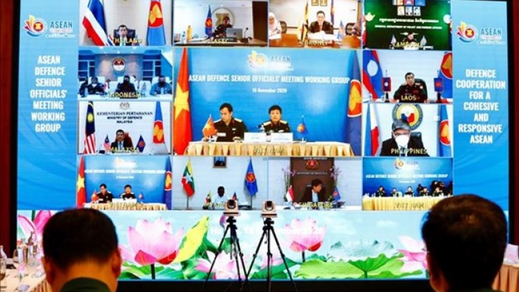 Virtual conference held to promote ASEAN defence co-operation