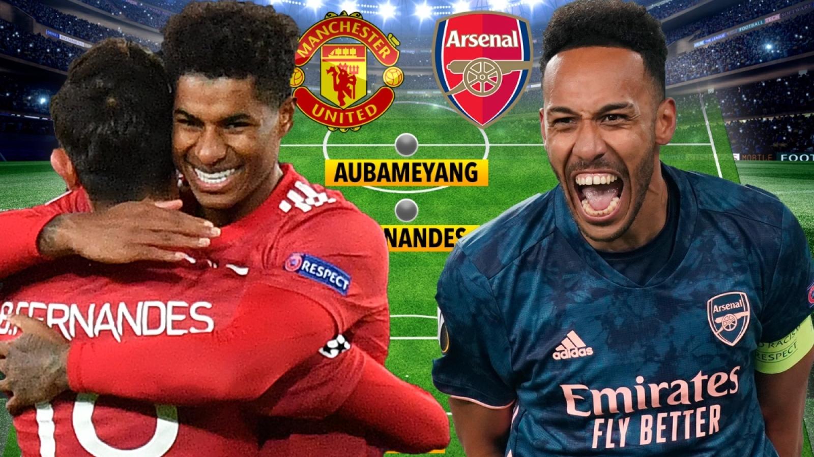 Đội hình kết hợp giữa MU và Arsenal: Gạch tên Martial, Lacazette