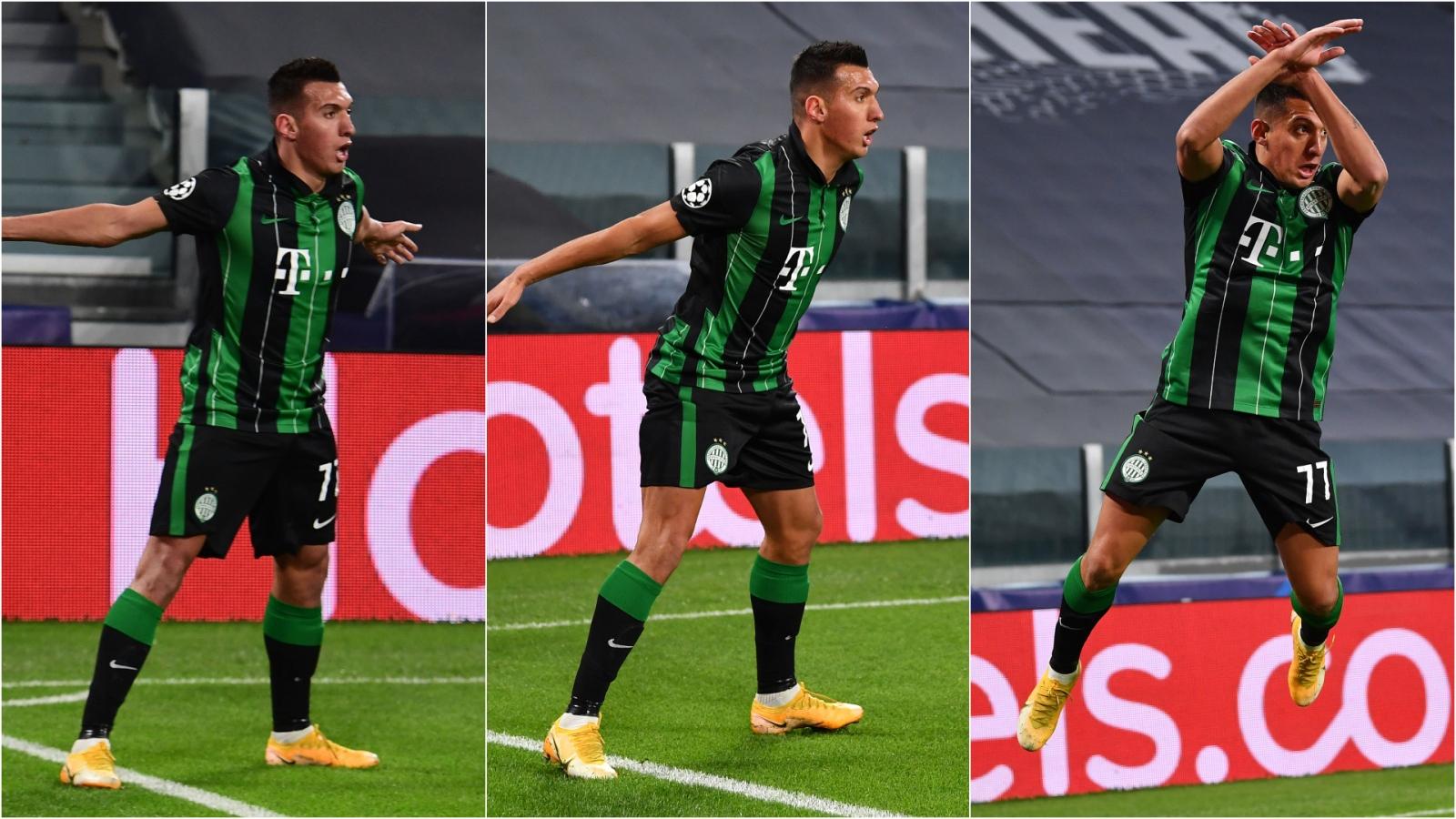 Đối thủ ăn mừng theo phong cách CR7 ngay trước mắt Cristiano Ronaldo