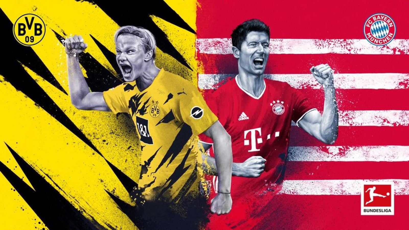 Dortmund - Bayern Munich: Erling Haaland và nhiệm vụ bất khả thi