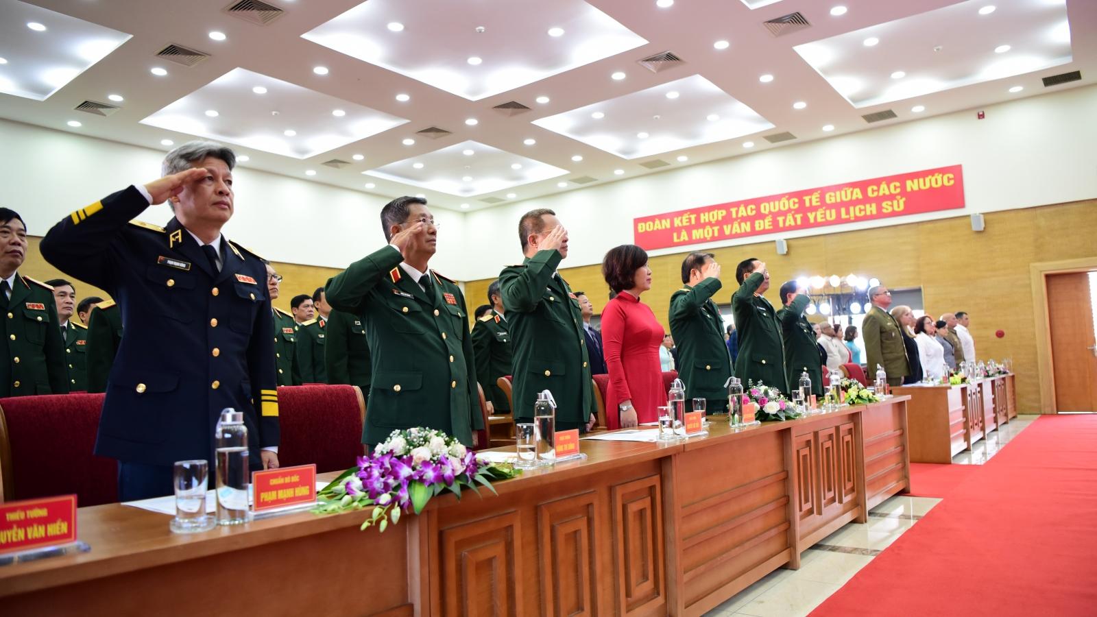 Bộ Quốc phòng kỷ niệm 60 năm Ngày thiết lập quan hệ ngoại giao Việt Nam - Cuba