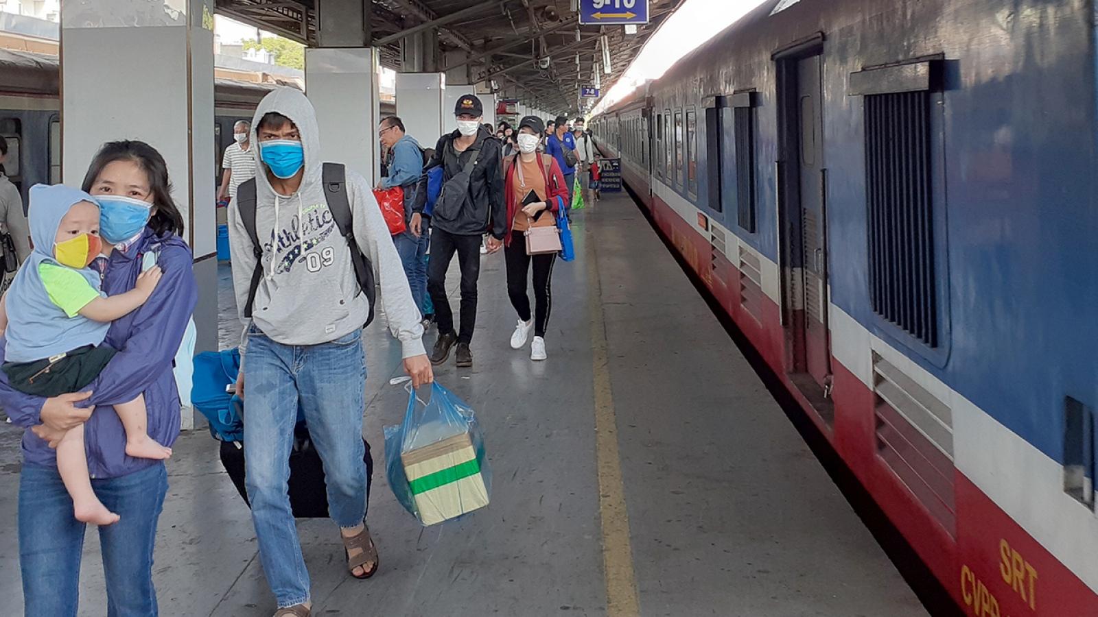 Ngành đường sắt tung 8.000 vé giảm giá 50%