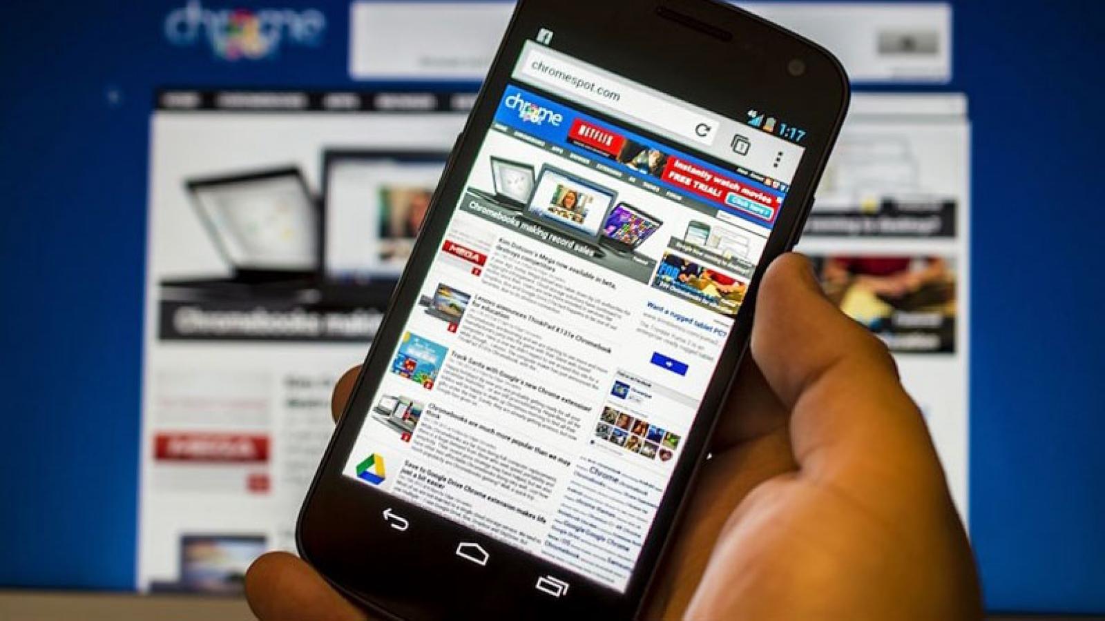 Điện thoại dùng Android cũ khó được hỗ trợ truy cập web an toàn