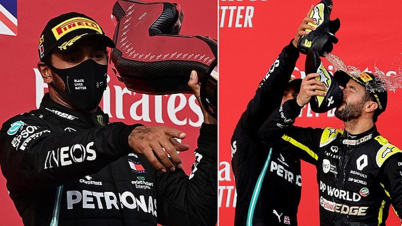 F1 chặng Emilia-Romagna GP: Hamilton giúp Mercedes lập kỷ lục vô địch 7 năm liên tiếp