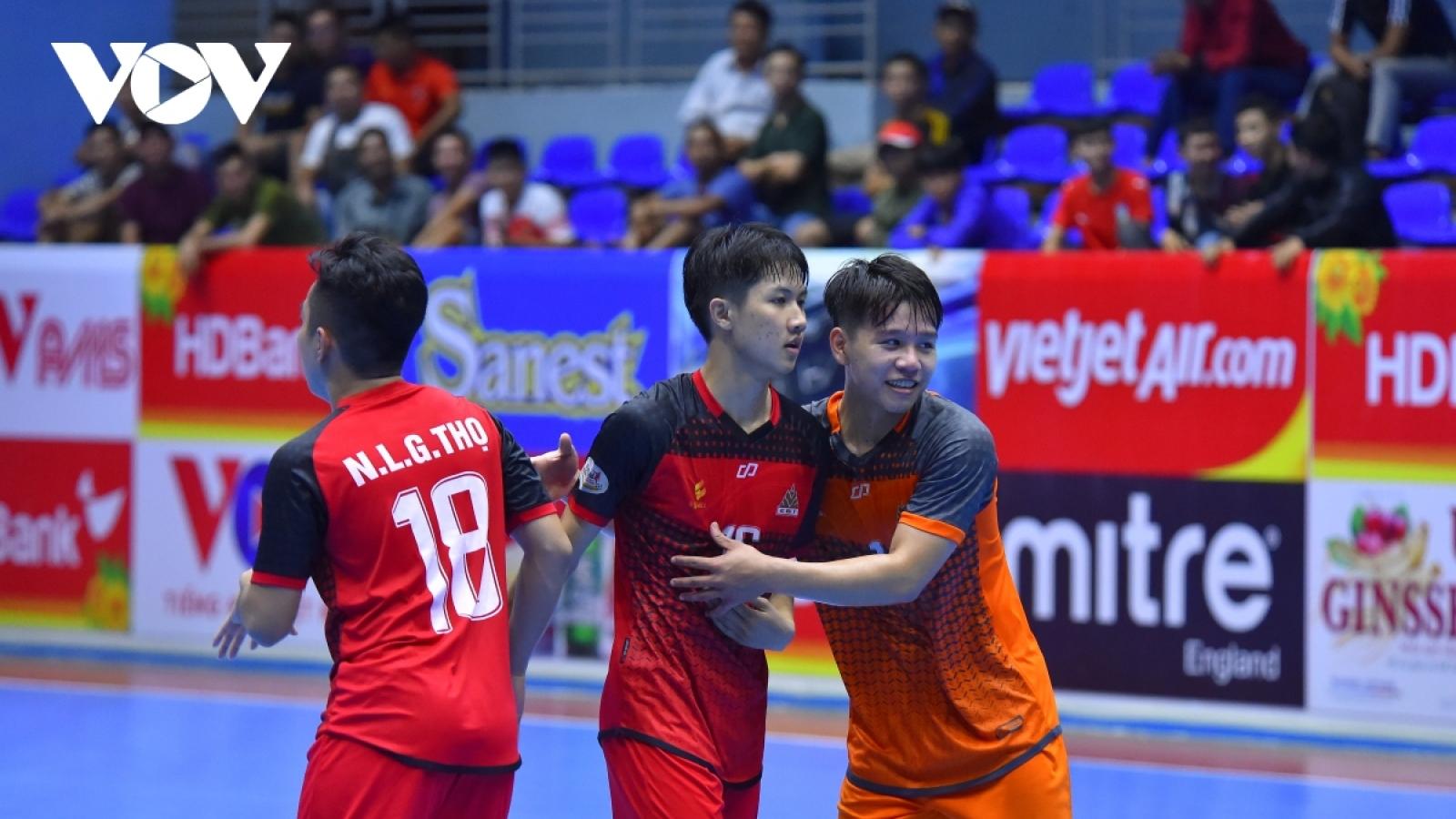 Nhìn lại vòng loại giải Futsal HDBank Cúp Quốc gia 2020: Cá vượt vũ môn