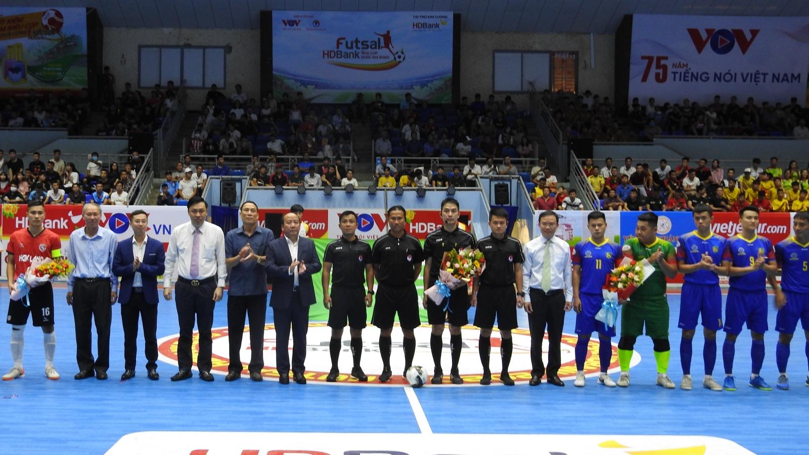 Khai mạc giải Futsal HDbank Cúp quốc gia 2020 tại Đắk Lắk