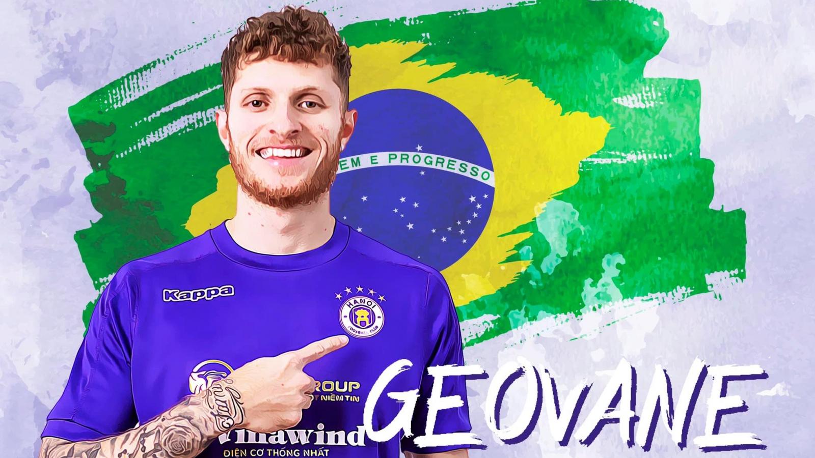 Hà Nội FC - Giấc mơ trở thành sự thật của Geovane Magno