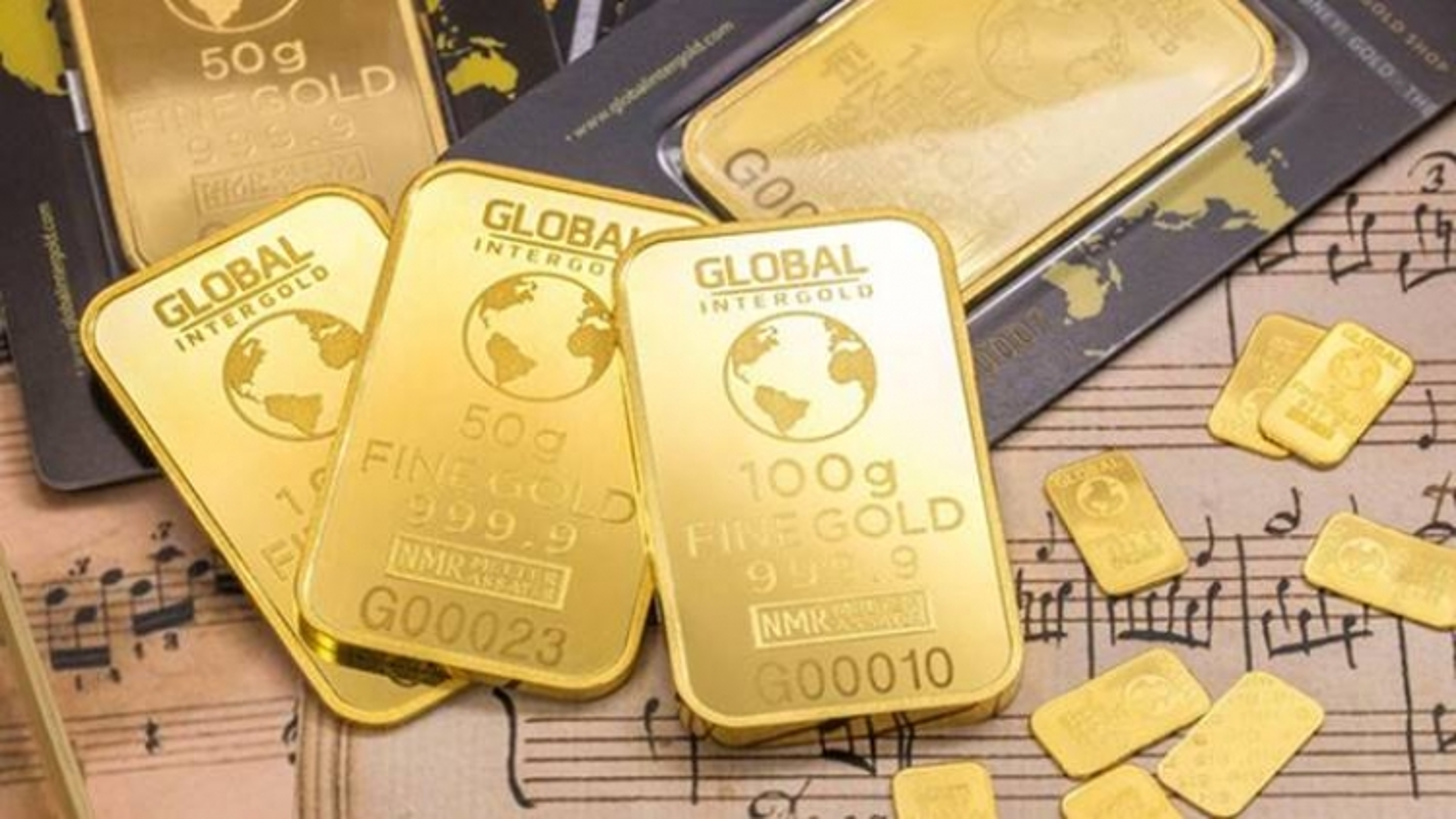 Giá vàng trong nước đi ngang