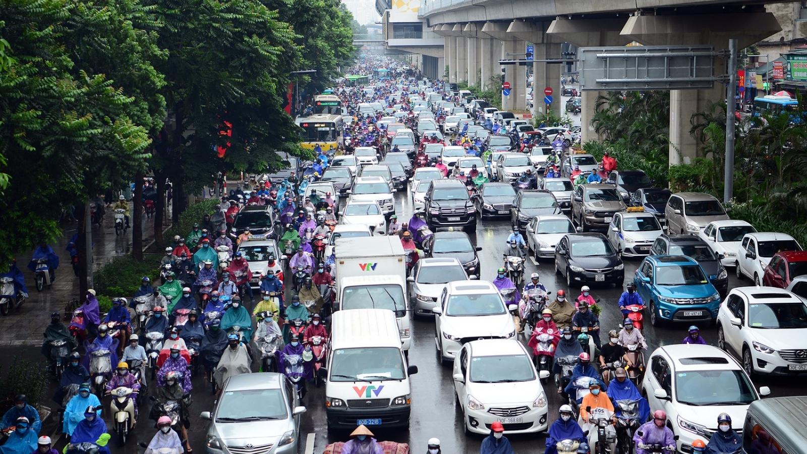 Hà Nội bế tắc với các giải pháp chống ùn tắc giao thông