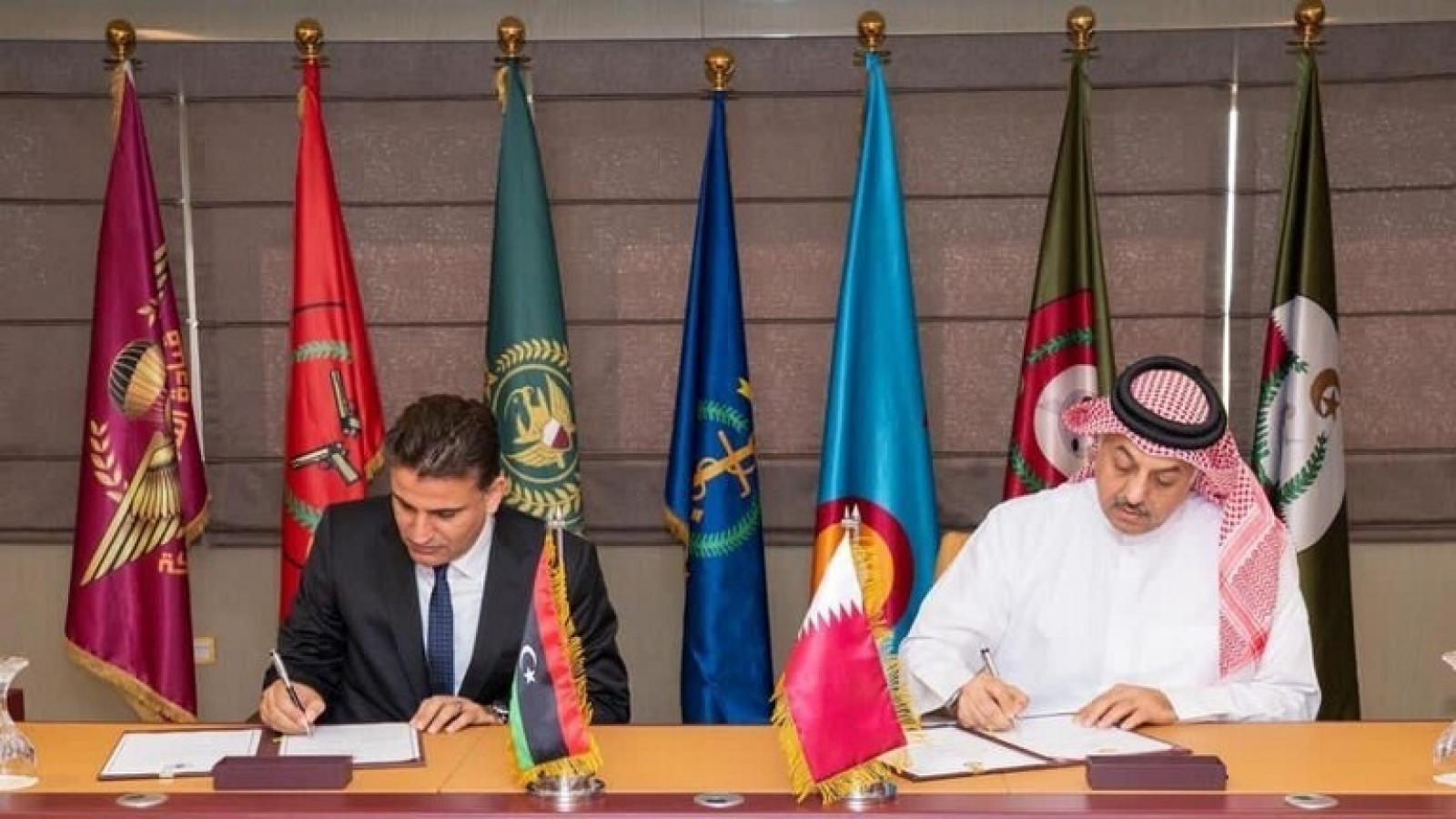Hợp tác quốc phòng, Qatar lập căn cứ không quân đầu tiên ở Misrata (Libya)