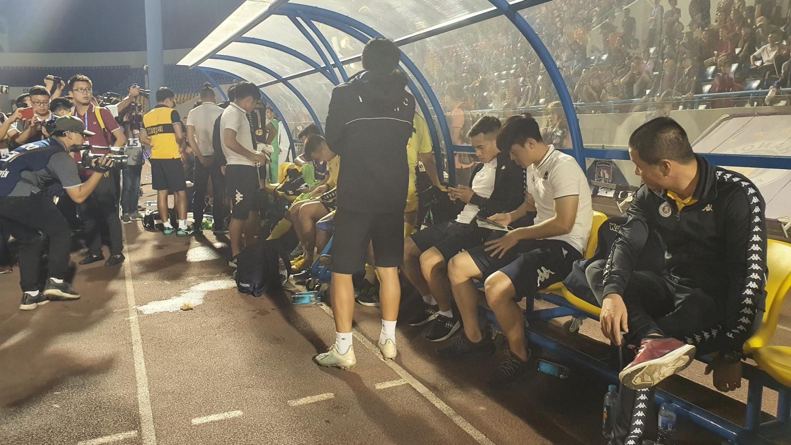 Hà Nội FC nín thở theo dõi Viettel thi đấu và cái kết nghẹn lời