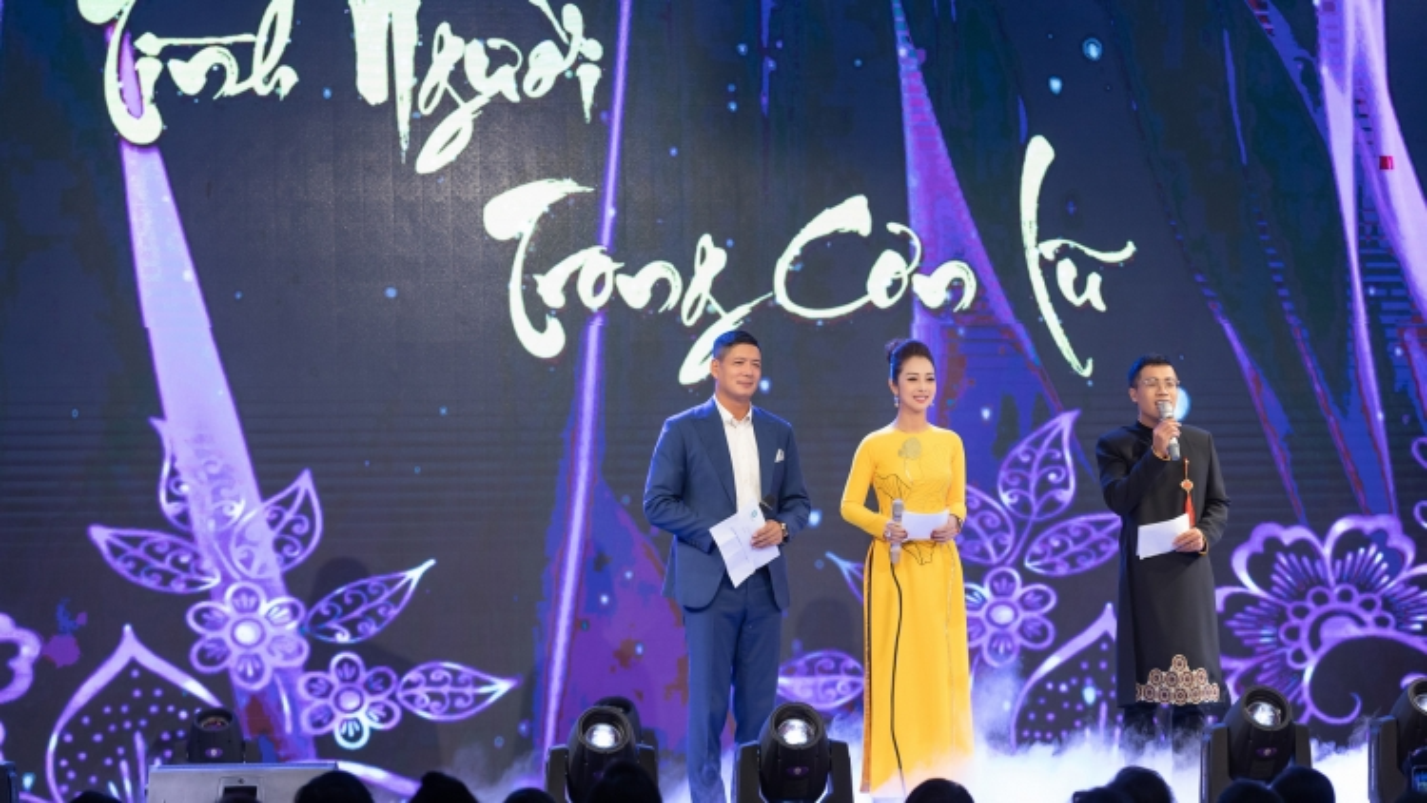 Hoa hậu Jennifer Phạm hội ngộ Bình Minh trong chương trình gây quỹ từ thiện