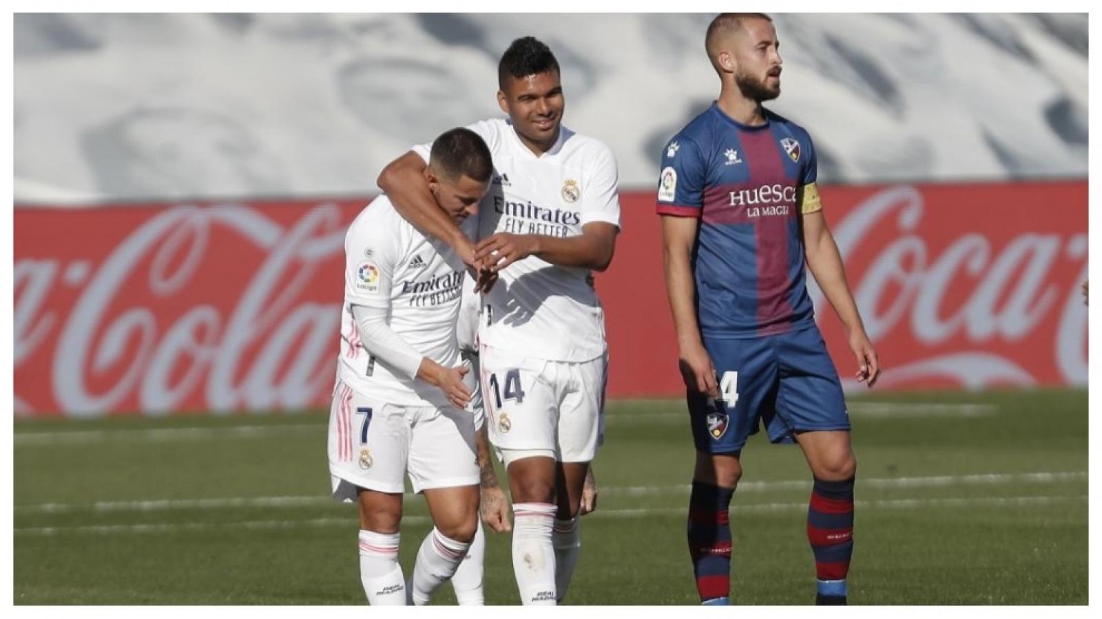 Hazard và Casemiro mắc Covid-19, Real Madrid khủng hoảng trầm trọng