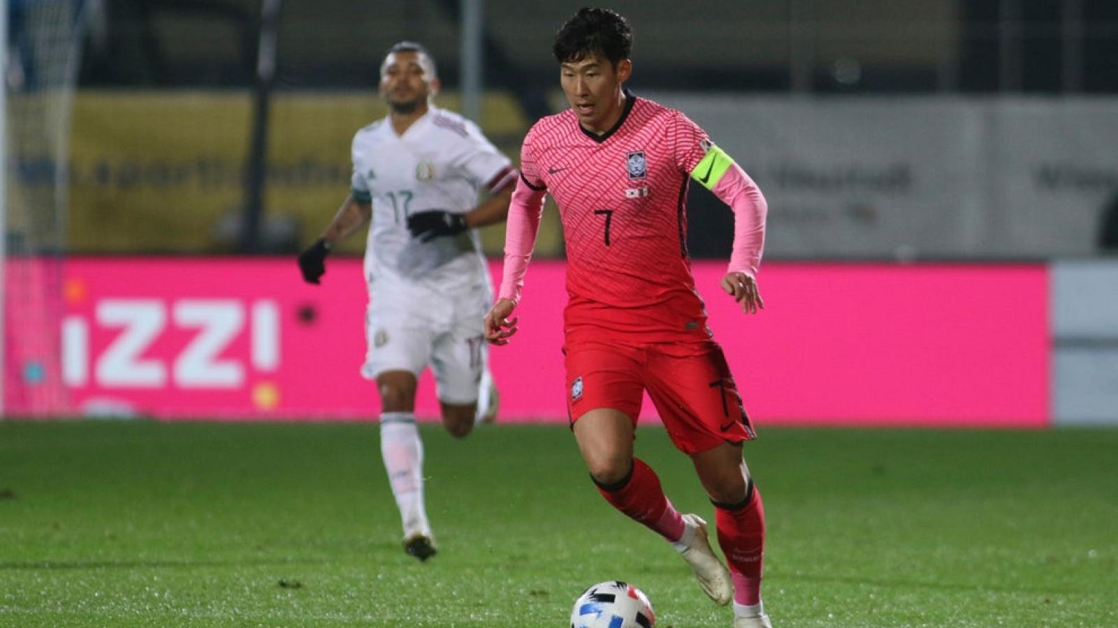7 đồng đội mắc Covid-19, Son Heung Min vẫn đá trọn 90 phút cho ĐT Hàn Quốc