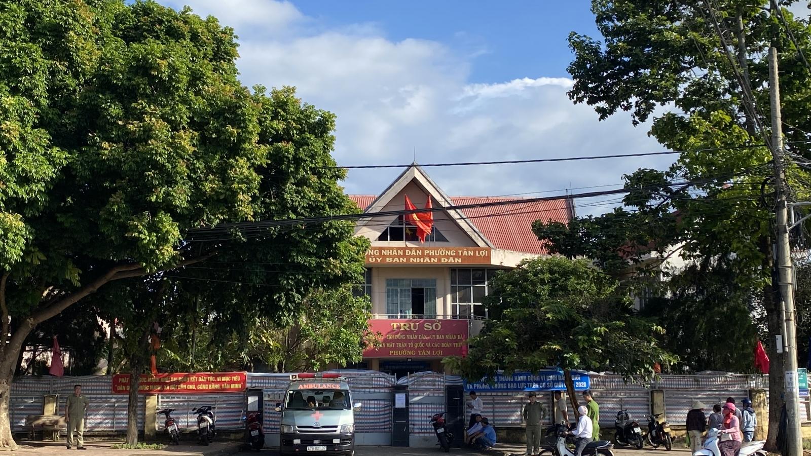 Cán bộ Đảng ủy phường nhảy lầu tự tử với lá thư tuyệt mệnh