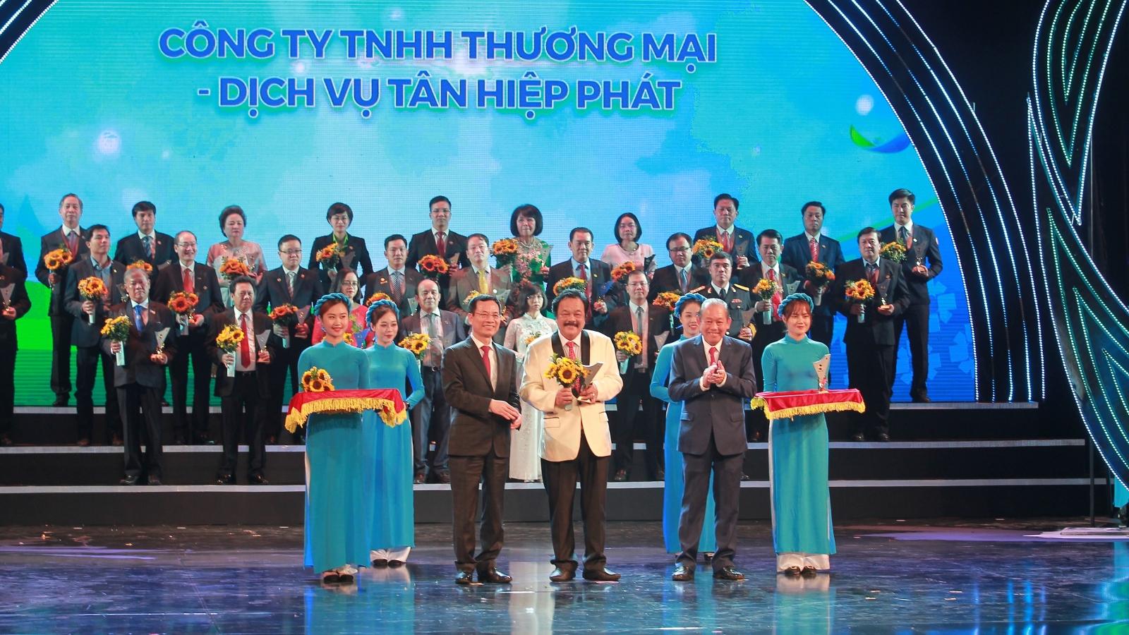 Sản phẩm của Tân Hiệp Phát lần thứ 6 liên tiếp đạt Thương hiệu Quốc gia
