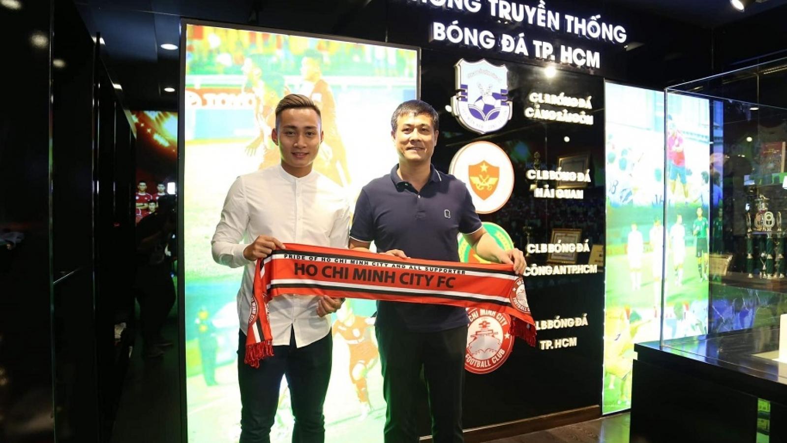 Chuyển nhượng V-League: Huy Hùng cập bến Đà Nẵng, Tuấn Tài gia nhập CLB TPHCM