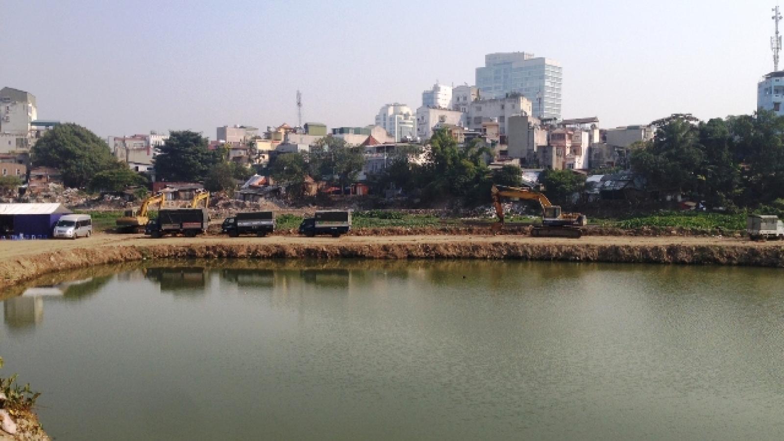 Vì sao dự án cải tạo hồ Linh Quang 16 năm vẫn ngổn ngang, dang dở?