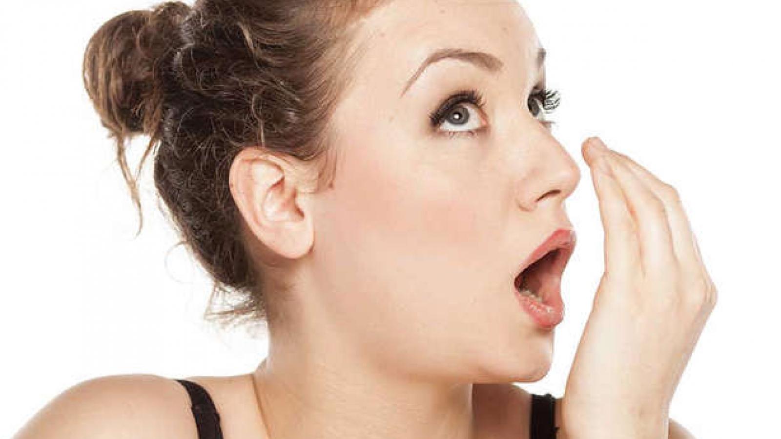 10 mẹo trị hôi miệng tại nhà hiệu quả