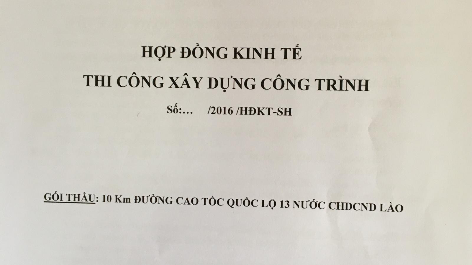 """Cảnh báo doanh nghiệp Việt mắc bẫy """"dự án ma"""" tại Lào"""