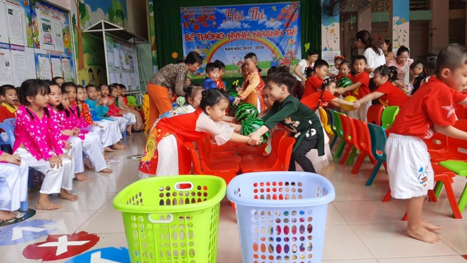 Dạy tiếng Anh cho học sinh mầm non ở những nơi có điều kiện