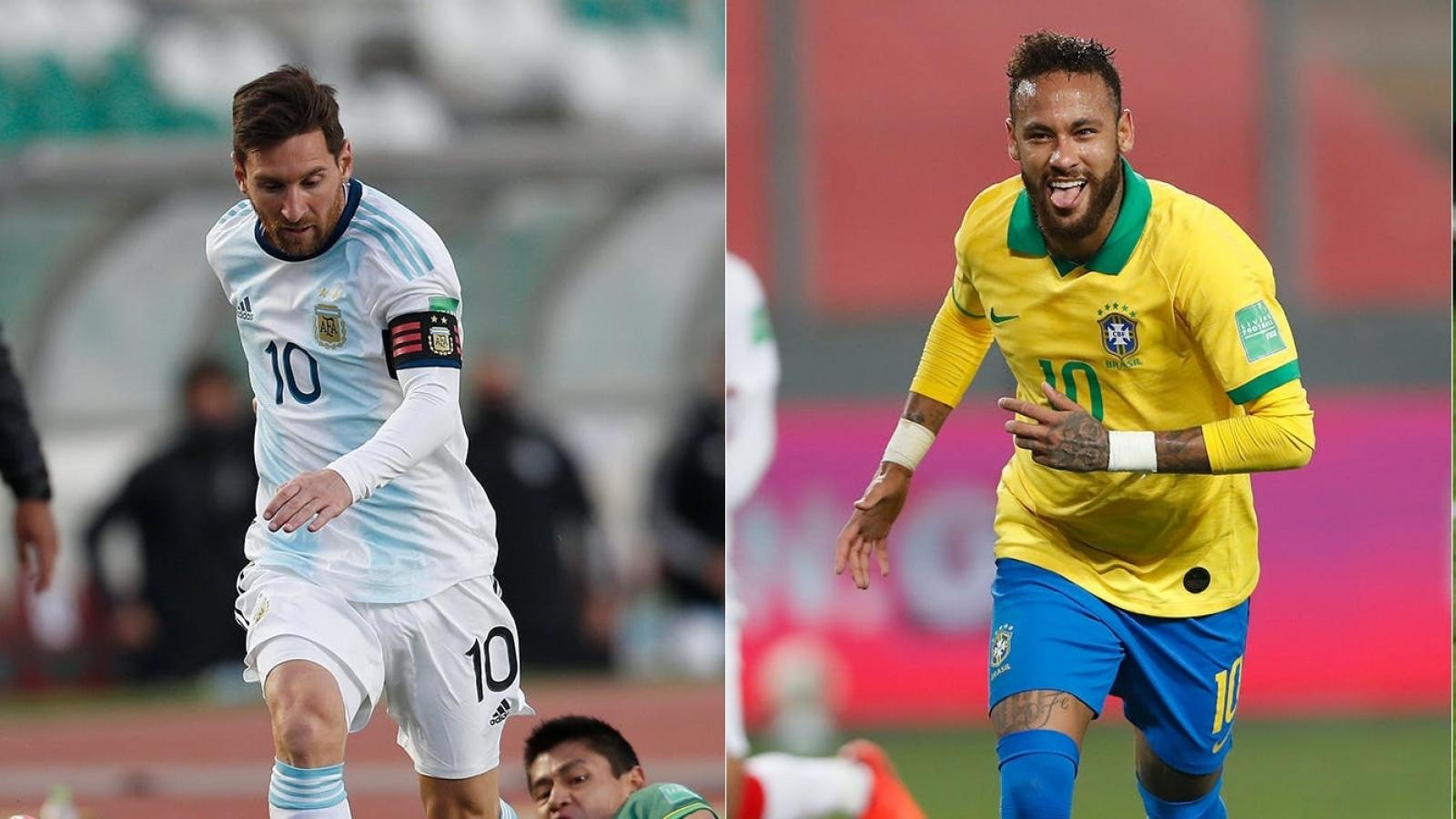 BXH vòng loại World Cup 2022 khu vực Nam Mỹ: Brazil toàn thắng, Argentina bất bại