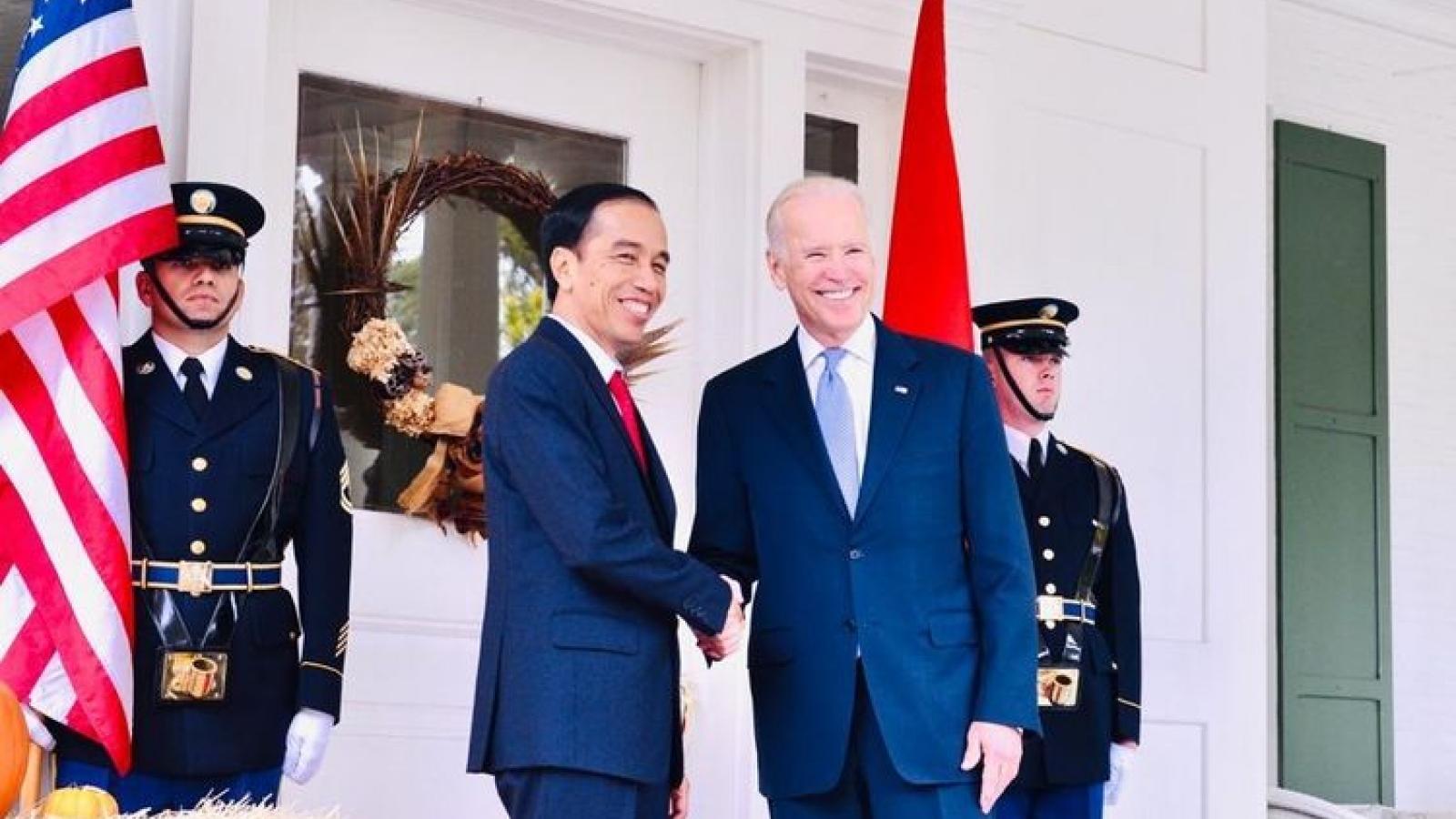 Tổng thống Indonesia kì vọng vào quan hệ chiến lược với Mỹ sau chiến thắng của Joe Biden