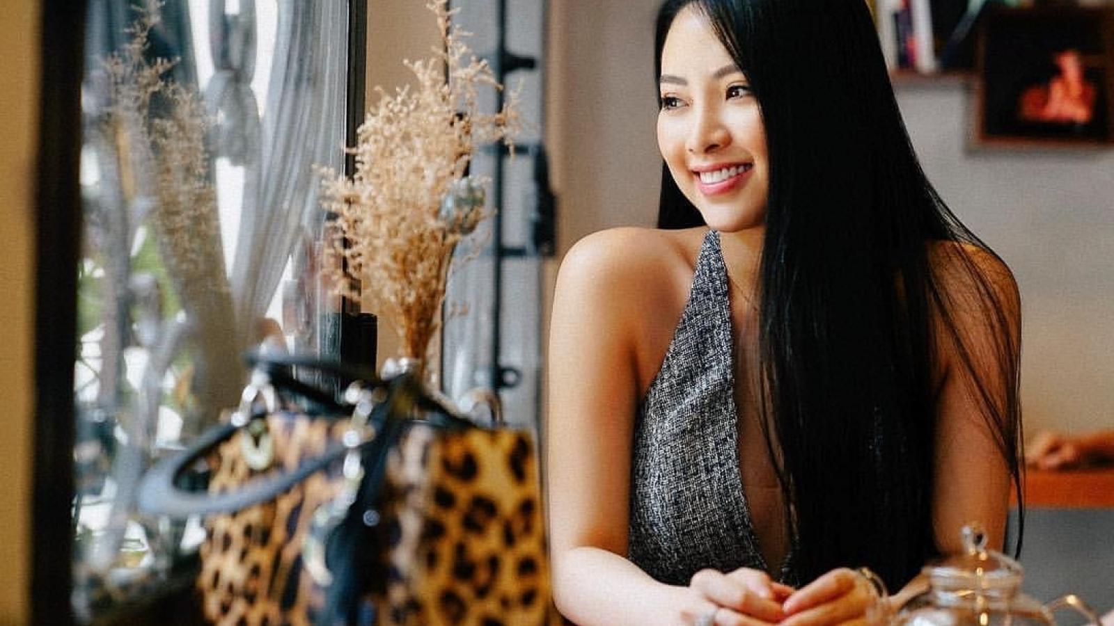 """Hoa hậu Nguyễn Ngọc Anh: """"Tôi chưa bao giờ quên trách nhiệm của mình"""""""