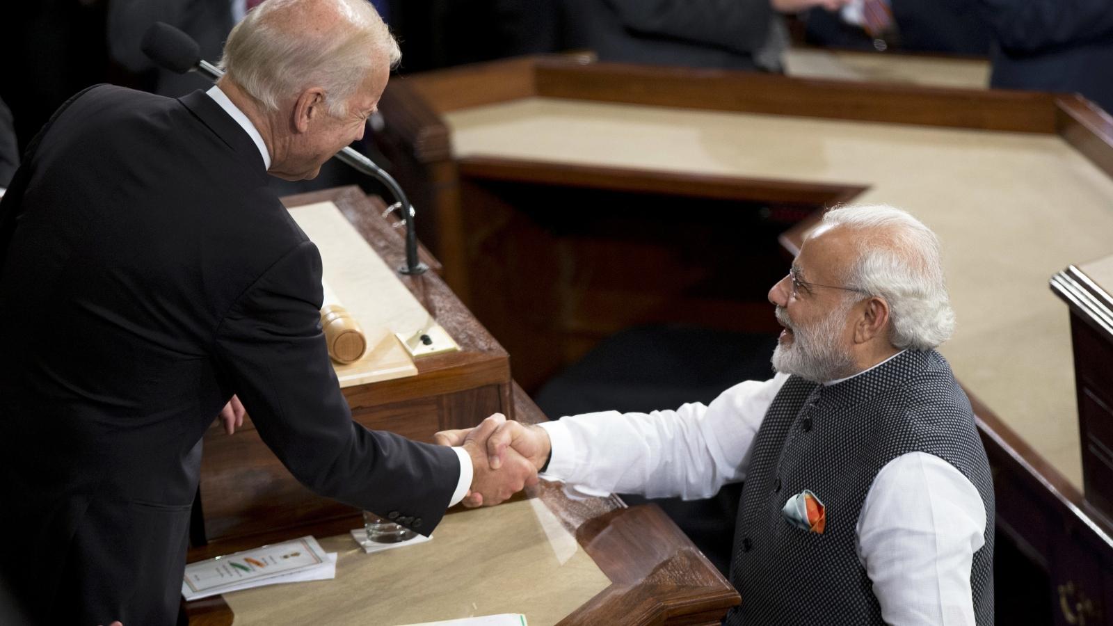 Ấn Độ chúc mừng Tổng thống đắc cử Mỹ Joe Biden